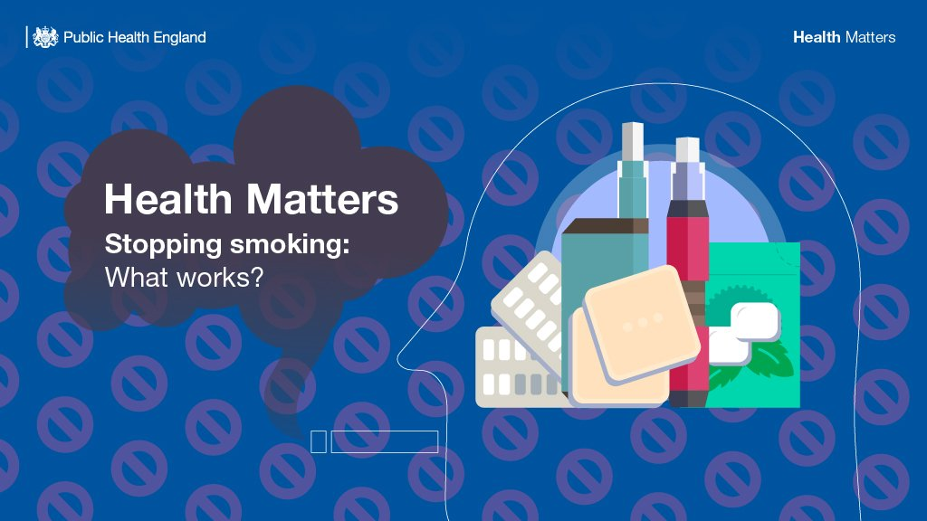 Health matters: stopping smoking – what works?