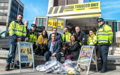 Illegal tobacco 'brings crime into communities and undermines stop smoking efforts'